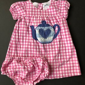 Mini Boden teacup dress